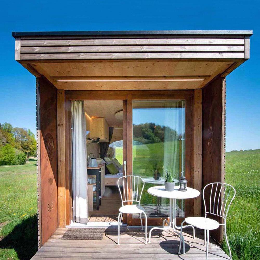 Fotoausschnitt von eco-ModulHaus Loft aus Thoma Holz100