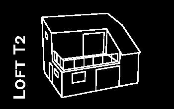 Modul Loft T2